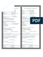 The Time of My Life - Present Tenses-Fill in