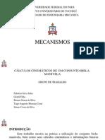 PROJETO DE UMA BIELA-MANIVELA DO MOTOR STIRLING.pptx