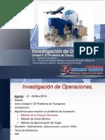 Clase 01-Nov-2014 Unidad v - El Problema de Transporte