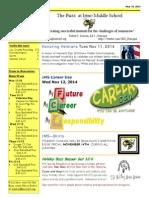 Newsletter Nov 10 2014(1)