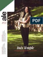 Entrevista a Inés Temple en Revista Al Este