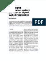 Sistema de modulación COFDM en audio digital