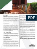 Alpha Estate Profile