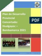 Pdc Hualgayoc Bambamarca Al 2021