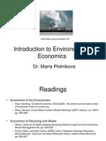 L1 - Environmental Economics (Map26)