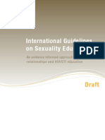 Unesco International Guidelines on Sexuality Education 183281e