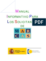 Manual Solicitantes de Marcas
