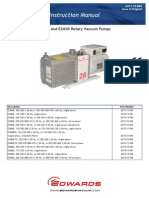 E2M28 and E2M30 Rotary Vacuum Pumps