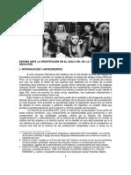 España Ante La Prostitución Del Siglo XXI
