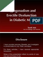 Erectile Dysfunction and Hypogonadism in Diabetic Patients