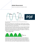 Vibration Amplitude Measurement