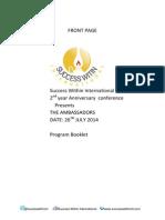 Program Bulletin