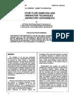 Reservoir Fluid Sampling & Recombination