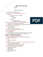CPR Mid-Term Study Guide