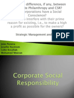 Presentation CSR vs Philanthropy Consolidated