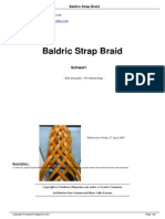 Baldric Strap Braid