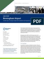 Birmingham Airport Case Study