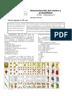 Autoevaluación 4º ESO Mat a de Conteo y Probabilidad 2014