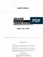MANUAL KENMORE 385.17928