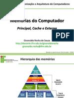 07 - Memorias de computador