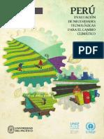 Peru Evaluación de Necesidades Tecnologicas Para El Cambio Climatico