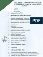 (7)Limón a Perú