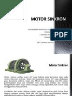 Motor Sinkron Alneo&Nyoman