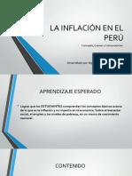La Inflación en El Perú
