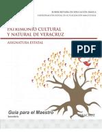 Guía Para El Maestro Patrimonio Cultural y Natural