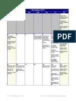 november-2014-calendar sporting events