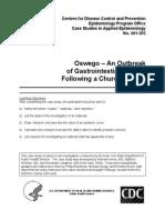 CDC case studies in applied epidemiology