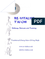 Tai Chi Exercises and Short Sequence