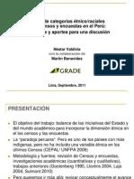 Censos y Encuestas en El Perú
