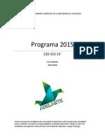 Programa Lista Adelante 2015