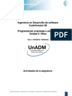 DPO3 U2 Actividades de La Unidad
