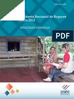 Resultados Generales ENAHO-2012
