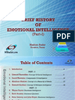 Brief History of Emotional Intelligence