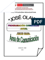 3ro Programacion Curricular