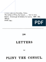 Letters of Pliny the Younger Volume I - Book I