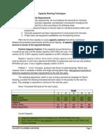 Case Study on Forecasting