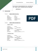 Memoria Desrciptiva y Especificaciones Tecnicas Final 1