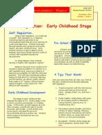 selfregulation newsletter
