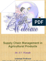 Supply Chain Management for Agricultural Products