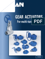 Gear Actuactors
