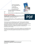 New York Pass -- Telephone Survey of New York City Residents -- Report and Analysis Final to Client