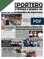 El Reportero, periódico semanal. Director Andrés Campuzano Baylon (10nov2014)