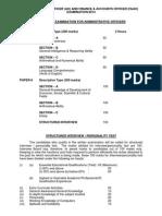 Plan of Exam-scheme and Syllabus-Ao