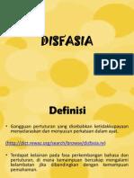 Dis Fasia