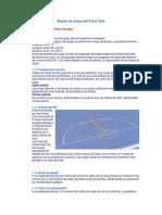 Reglas de Juego Del Fubol Sala