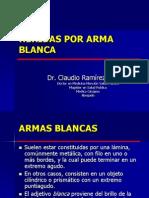 HERIDAS ARMA BLANCA.ppt